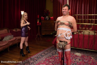 Photo number 15 from Feminized and Abandoned shot for Divine Bitches on Kink.com. Featuring Aiden Starr and Marcelo in hardcore BDSM & Fetish porn.