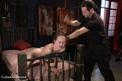 Photo number 14 from Fuck Doll shot for  on Kink.com. Featuring Maestro and Bonnie Day in hardcore BDSM & Fetish porn.