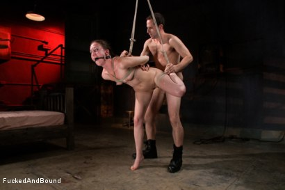 Photo number 5 from Fuck Doll shot for  on Kink.com. Featuring Maestro and Bonnie Day in hardcore BDSM & Fetish porn.