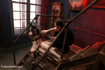 Photo number 7 from Fuck Doll shot for  on Kink.com. Featuring Maestro and Bonnie Day in hardcore BDSM & Fetish porn.