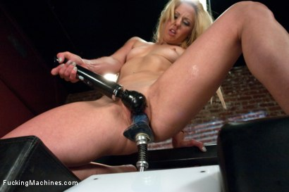 Photo number 3 from Ass Fisting & a FUCKSALL, Sybian & a FUCKSALL, Mojo & a FUCKSALL & a.. shot for Fucking Machines on Kink.com. Featuring Holly Hanna in hardcore BDSM & Fetish porn.