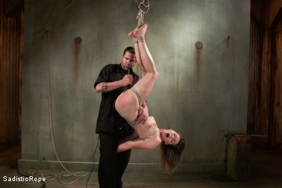 Photo number 5 from Paying the Price- Intense Predicament Bondage and Brutal Torment shot for Sadistic Rope on Kink.com. Featuring Missy Minks in hardcore BDSM & Fetish porn.