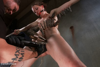 Photo number 6 from Screams of Agony shot for Sadistic Rope on Kink.com. Featuring Bonnie Day in hardcore BDSM & Fetish porn.