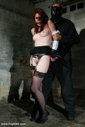 Photo number 2 from Justine Joli and Sgt. Major shot for Hogtied on Kink.com. Featuring Justine Joli and Sgt. Major in hardcore BDSM & Fetish porn.