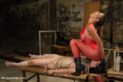Photo number 13 from Back Alley Lesbian Sub shot for Whipped Ass on Kink.com. Featuring Katharine Cane and Felony in hardcore BDSM & Fetish porn.