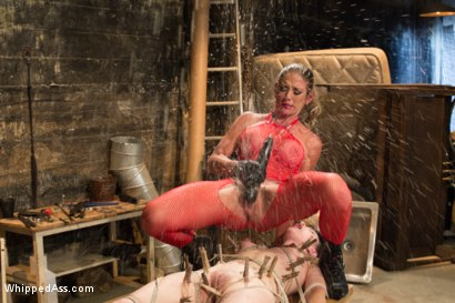 Photo number 7 from Back Alley Lesbian Sub shot for Whipped Ass on Kink.com. Featuring Katharine Cane and Felony in hardcore BDSM & Fetish porn.