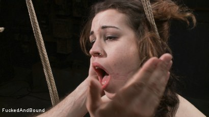 Photo number 13 from Resistance is Futile shot for  on Kink.com. Featuring Elizabeth Thorn and Maestro in hardcore BDSM & Fetish porn.