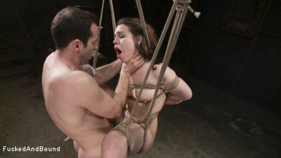 Photo number 14 from Resistance is Futile shot for  on Kink.com. Featuring Elizabeth Thorn and Maestro in hardcore BDSM & Fetish porn.