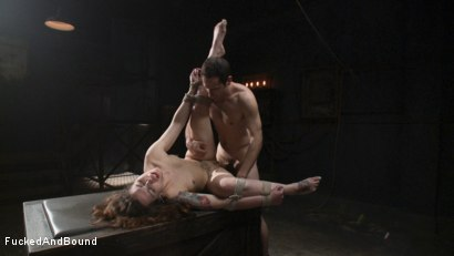 Photo number 16 from Resistance is Futile shot for  on Kink.com. Featuring Elizabeth Thorn and Maestro in hardcore BDSM & Fetish porn.