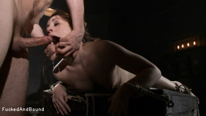 Photo number 6 from Resistance is Futile shot for  on Kink.com. Featuring Elizabeth Thorn and Maestro in hardcore BDSM & Fetish porn.