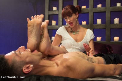 Photo number 14 from Cinderella  shot for Foot Worship on Kink.com. Featuring Maitresse Madeline Marlowe  and Casey More in hardcore BDSM & Fetish porn.