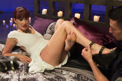 Photo number 6 from Cinderella  shot for Foot Worship on Kink.com. Featuring Maitresse Madeline Marlowe  and Casey More in hardcore BDSM & Fetish porn.