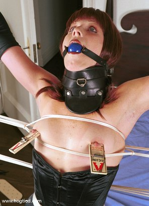 Photo number 13 from April shot for Hogtied on Kink.com. Featuring April in hardcore BDSM & Fetish porn.