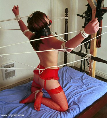 Photo number 5 from April shot for Hogtied on Kink.com. Featuring April in hardcore BDSM & Fetish porn.