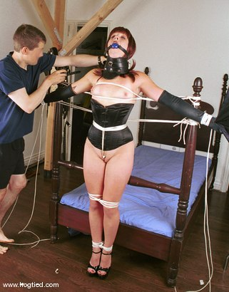 Photo number 1 from April shot for Hogtied on Kink.com. Featuring April in hardcore BDSM & Fetish porn.