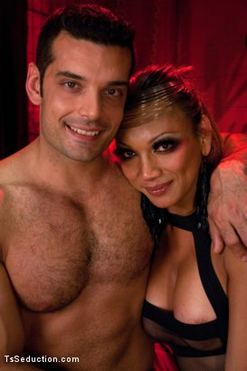 Photo number 15 from Happy New Year -You're Going to HELL with Yasmin Lee & her 8 inch COCK shot for TS Seduction on Kink.com. Featuring Yasmin Lee and Marcus Ruhl in hardcore BDSM & Fetish porn.