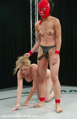 Photo number 14 from Anna Mills vs. The Ninja shot for Ultimate Surrender on Kink.com. Featuring Anna Mills and Crimson Ninja in hardcore BDSM & Fetish porn.
