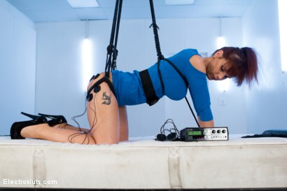 Photo number 2 from Hot MILF is an Electro-Anal-Slut! shot for Electro Sluts on Kink.com. Featuring Lea Lexis and Syren de Mer in hardcore BDSM & Fetish porn.