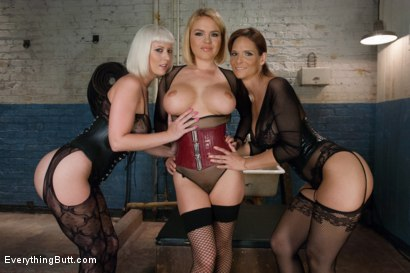 Photo number 1 from Anal Frenzy: Butt Fisting Cherry Torn and Syren de Mer shot for Everything Butt on Kink.com. Featuring Syren de Mer, Krissy Lynn and Cherry Torn in hardcore BDSM & Fetish porn.