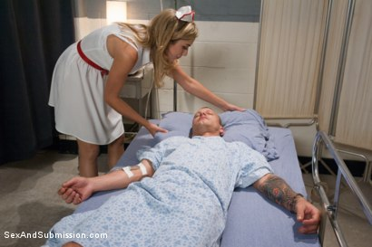 Photo number 1 from The Hostage Nurse:  shot for Sex And Submission on Kink.com. Featuring Mr. Pete and Lia Lor in hardcore BDSM & Fetish porn.