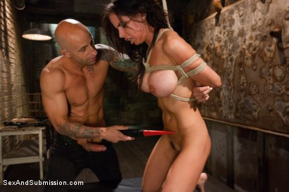 Photo number 8 from The Rough House shot for Sex And Submission on Kink.com. Featuring Astral Dust and Brandy Aniston in hardcore BDSM & Fetish porn.