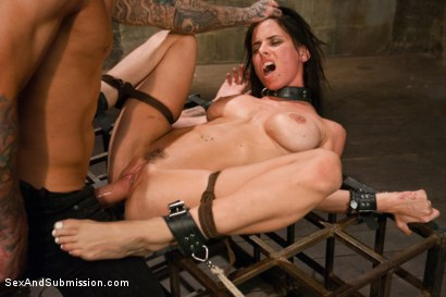 Photo number 14 from The Rough House shot for Sex And Submission on Kink.com. Featuring Astral Dust and Brandy Aniston in hardcore BDSM & Fetish porn.
