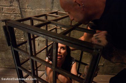 Photo number 2 from The Rough House shot for Sex And Submission on Kink.com. Featuring Astral Dust and Brandy Aniston in hardcore BDSM & Fetish porn.