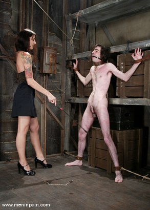 Photo number 2 from Knox and Lexi Bardot shot for Men In Pain on Kink.com. Featuring Lexi Bardot and Knox in hardcore BDSM & Fetish porn.
