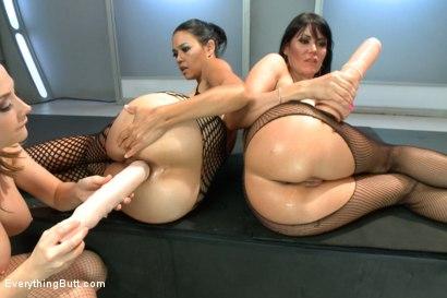 Photo number 12 from Anal Sluts: Dana Vespoli and Eva Karera shot for Everything Butt on Kink.com. Featuring Chanel Preston, Eva Karera and Dana Vespoli in hardcore BDSM & Fetish porn.