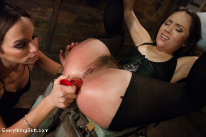 Photo number 10 from Anal Sluts: Kristina Rose and Amber Rayne shot for Everything Butt on Kink.com. Featuring Amber Rayne and Kristina Rose in hardcore BDSM & Fetish porn.