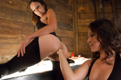 Photo number 5 from Anal Sluts: Kristina Rose and Amber Rayne shot for Everything Butt on Kink.com. Featuring Amber Rayne and Kristina Rose in hardcore BDSM & Fetish porn.