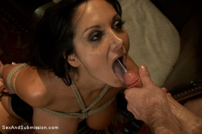 Photo number 14 from The Secret Desires of Ava Addams shot for Sex And Submission on Kink.com. Featuring James Deen and Ava Addams in hardcore BDSM & Fetish porn.