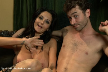 Photo number 15 from The Secret Desires of Ava Addams shot for Sex And Submission on Kink.com. Featuring James Deen and Ava Addams in hardcore BDSM & Fetish porn.