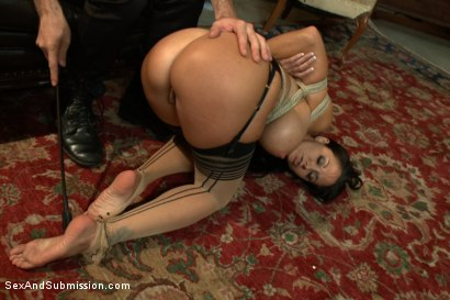 Photo number 10 from The Secret Desires of Ava Addams shot for Sex And Submission on Kink.com. Featuring James Deen and Ava Addams in hardcore BDSM & Fetish porn.
