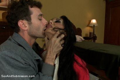Photo number 3 from The Secret Desires of Ava Addams shot for Sex And Submission on Kink.com. Featuring James Deen and Ava Addams in hardcore BDSM & Fetish porn.