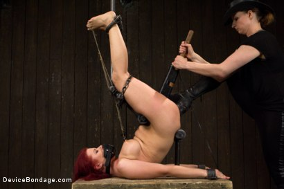 Photo number 9 from Claire Adams vs Sarah Blake shot for Device Bondage on Kink.com. Featuring Sarah Blake in hardcore BDSM & Fetish porn.