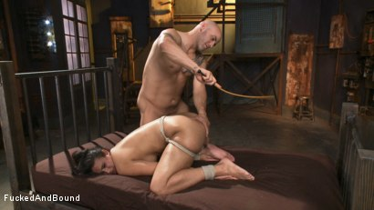 Photo number 13 from Bratty Bitch Beatdown shot for Fucked and Bound on Kink.com. Featuring Derrick Pierce and Penny Barber in hardcore BDSM & Fetish porn.