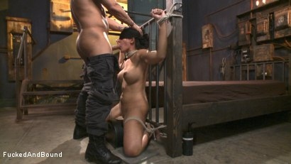 Photo number 4 from Bratty Bitch Beatdown shot for Fucked and Bound on Kink.com. Featuring Derrick Pierce and Penny Barber in hardcore BDSM & Fetish porn.