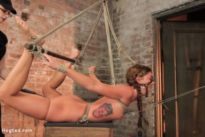 Photo number 6 from Beautiful Cassandra Nix Bound and Humiliated shot for Hogtied on Kink.com. Featuring Cassandra Nix in hardcore BDSM & Fetish porn.