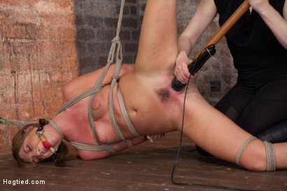 Photo number 3 from Beautiful Cassandra Nix Bound and Humiliated shot for Hogtied on Kink.com. Featuring Cassandra Nix in hardcore BDSM & Fetish porn.