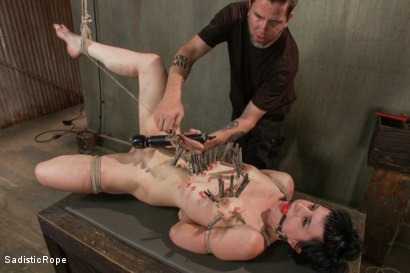 Photo number 10 from Katharine Cane - Edited Live Shoot  shot for Sadistic Rope on Kink.com. Featuring Katharine Cane in hardcore BDSM & Fetish porn.