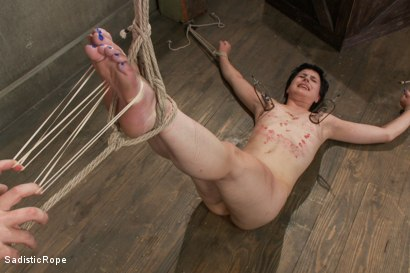 Photo number 11 from Katharine Cane - Edited Live Shoot  shot for Sadistic Rope on Kink.com. Featuring Katharine Cane in hardcore BDSM & Fetish porn.