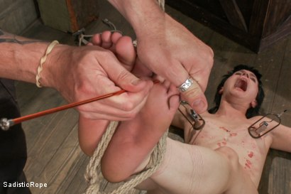 Photo number 12 from Katharine Cane - Edited Live Shoot  shot for Sadistic Rope on Kink.com. Featuring Katharine Cane in hardcore BDSM & Fetish porn.