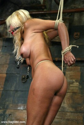 Photo number 2 from Stacy Burke shot for Hogtied on Kink.com. Featuring Stacy Burke in hardcore BDSM & Fetish porn.