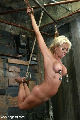Photo number 11 from Stacy Burke shot for Hogtied on Kink.com. Featuring Stacy Burke in hardcore BDSM & Fetish porn.