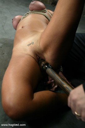 Photo number 7 from Stacy Burke shot for Hogtied on Kink.com. Featuring Stacy Burke in hardcore BDSM & Fetish porn.
