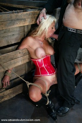 Photo number 3 from Big Daddy Brady and Stacy Burke shot for Sex And Submission on Kink.com. Featuring Big Daddy Brady and Stacy Burke in hardcore BDSM & Fetish porn.