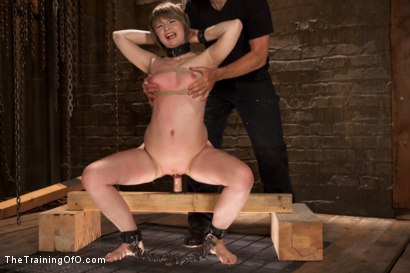 Photo number 1 from Scaring the Fuck Out of Alani Pi, Day 2 shot for The Training Of O on Kink.com. Featuring Mike Hawke and Alani Pi in hardcore BDSM & Fetish porn.