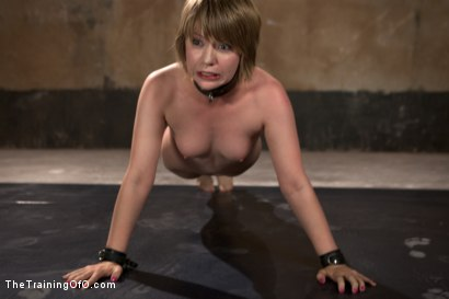 Photo number 3 from Scaring the Fuck out of Alani Pi, Day Three shot for The Training Of O on Kink.com. Featuring Wolf Jenner and Alani Pi in hardcore BDSM & Fetish porn.