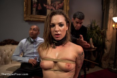 Photo number 3 from Dahlia's Redemption shot for The Upper Floor on Kink.com. Featuring Owen Gray, Dahlia Sky, Penny Barber, Steven O'Master, Mickey Mod and Nerine Mechanique in hardcore BDSM & Fetish porn.
